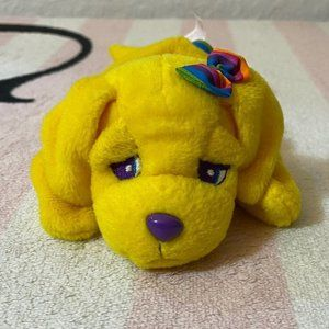 Vintage Lisa Frank Candy Puppy Dog Beanie Baby